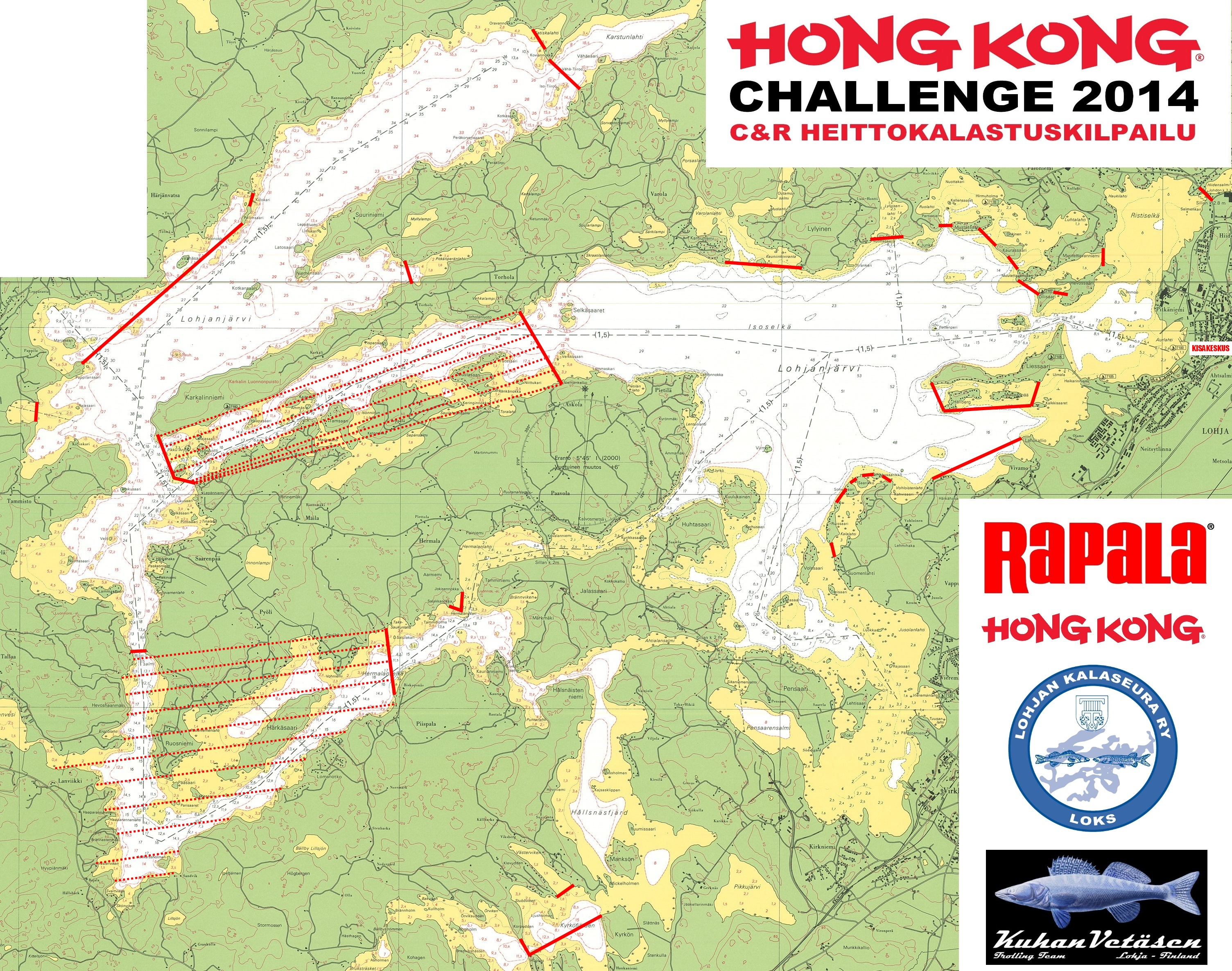Hong Kong Challenge C R Heittokalastuskilpailu 13 9 2014